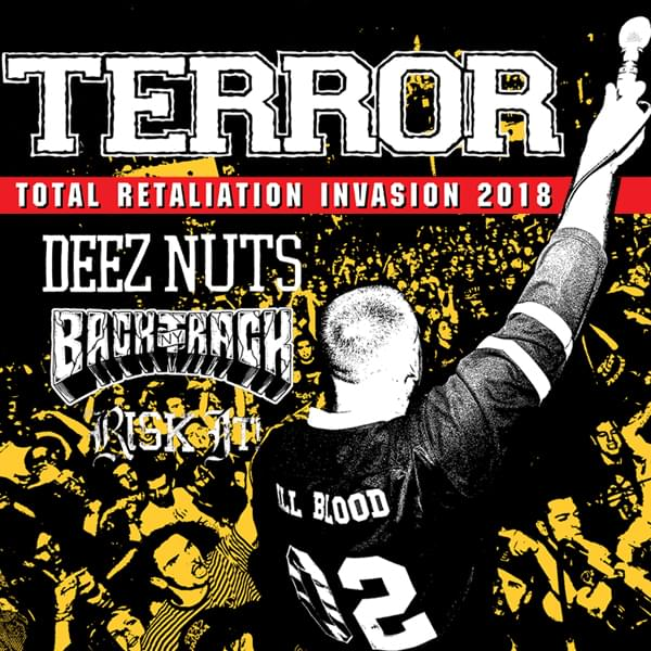 Tickets kaufen für Terror - Total Retaliation Invasion 2018 am 30.11.2018