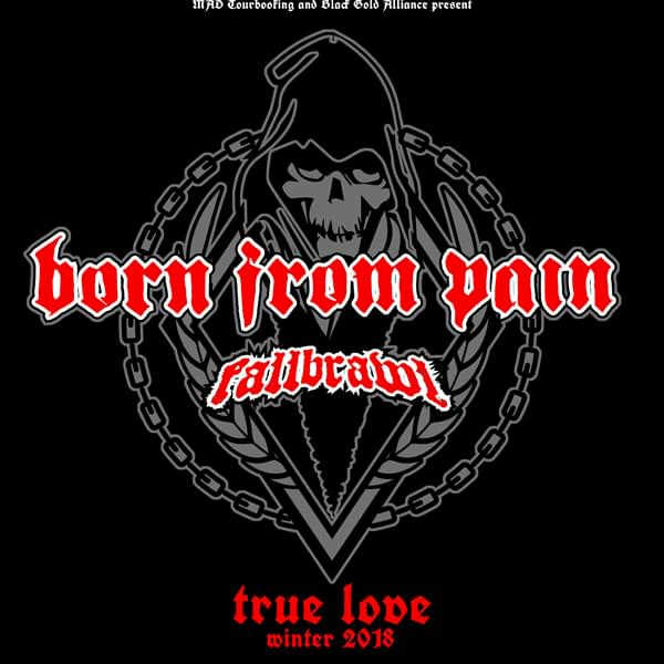Tickets kaufen für Born From Pain am 25.12.2018